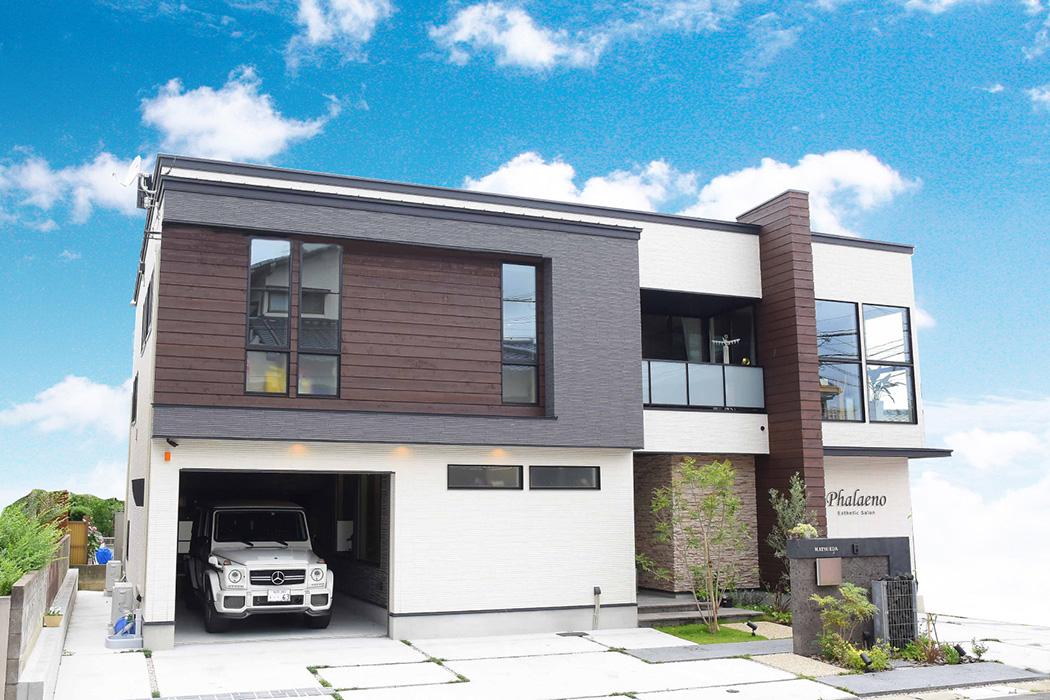 福岡でガレージハウスを建てる